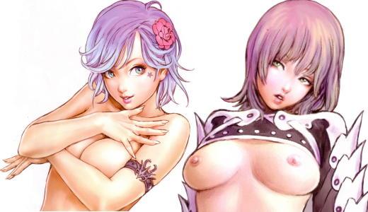 superb full color hentai artbook