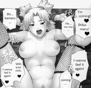 naruto temari hentai Naruto Hentai XXX Special Pack ~ Konoha Girls Erotic Illusion Art