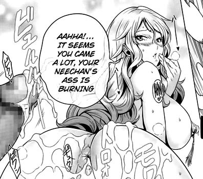 Rio is burning ? No, the sister's ass. *cough*