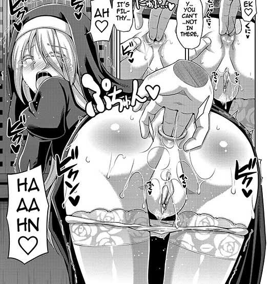 Buttfucking a brainwashed hot young nun. Living the life :D