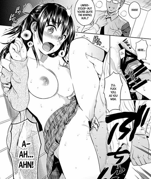 I like to imagine girls like that, secretly perverted until they explode in open lust, exist in the real world