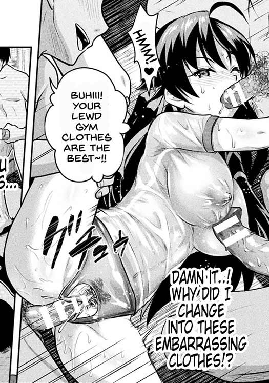 She could have kept that outfit all manga long if she wanted, it would have been OK :D