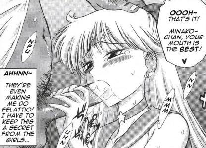 sailor moon free hentai english translated doujin